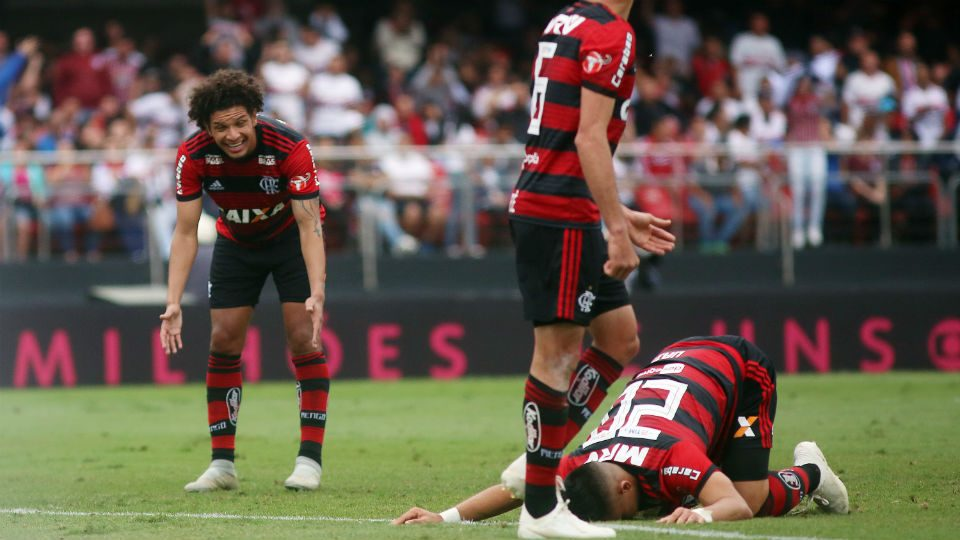 Willian Arão Uribe Flamengo 2018