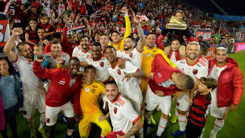 Flamengo campeão Florida Cup 2019
