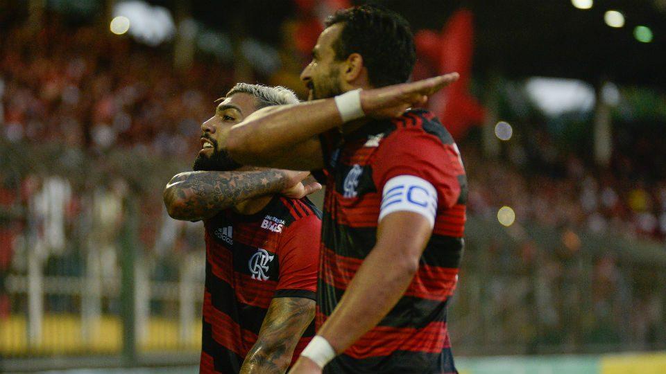 Gabigol ceifada Henrique Dourado estreia 2019 Flamengo
