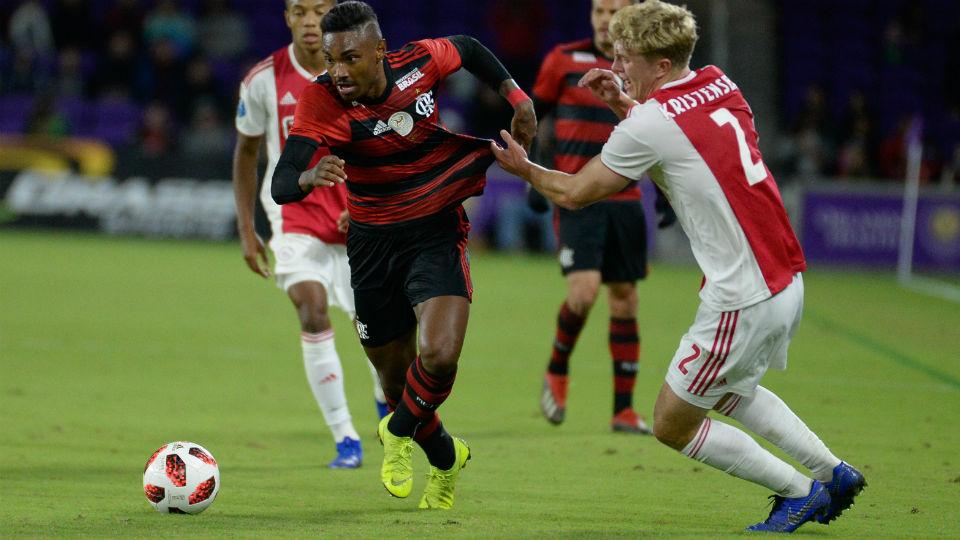 Vitinho Florida Cup 2019 Ajax Flamengo