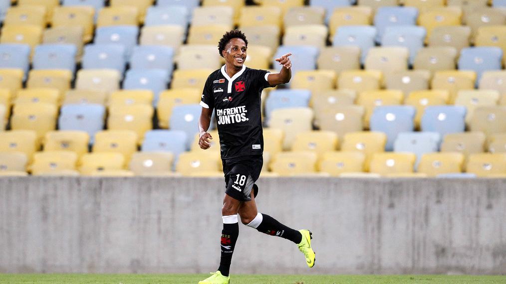 Lucas Mineiro Vasco camisa homenagem semifinal Taca Guanabara 2019