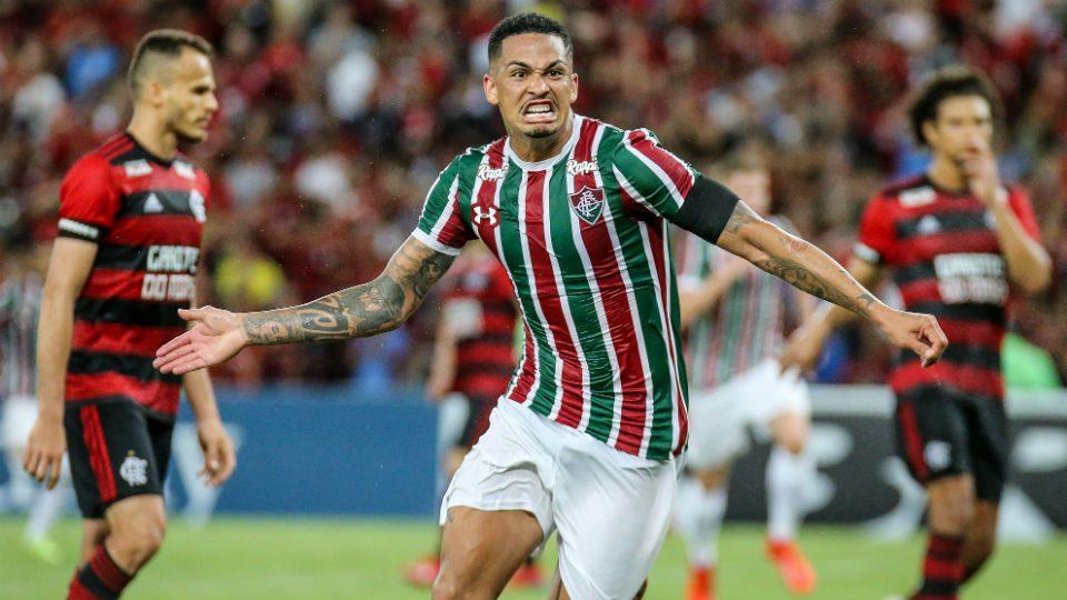 Luciano gol Flamengo Fluminense Fla-Flu 2019 semi Taça Guanabara