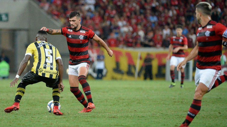 Arrascaeta Flamengo Volta Redonda 2019 Maracanã
