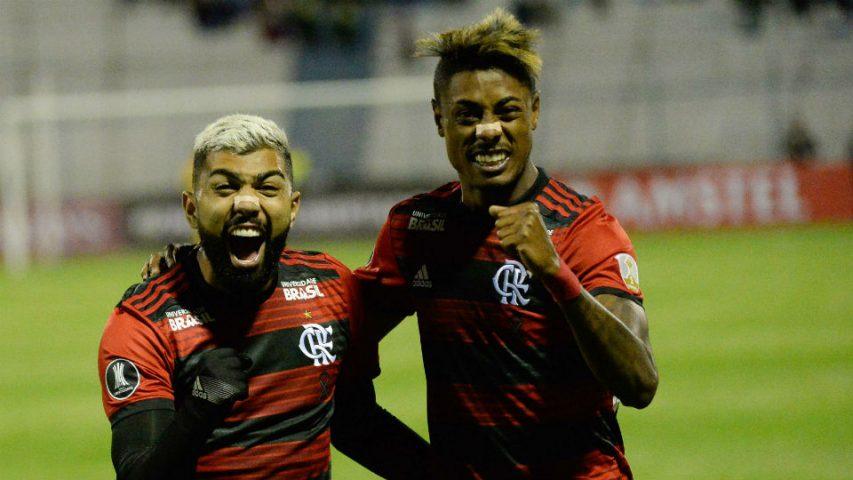 Gabigol Bruno Henrique Flamengo estreia Libertadores 2019