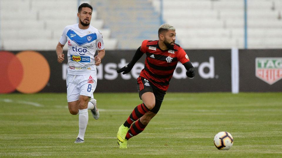 Gabigol estreia Flamengo Libertadores San José 2019