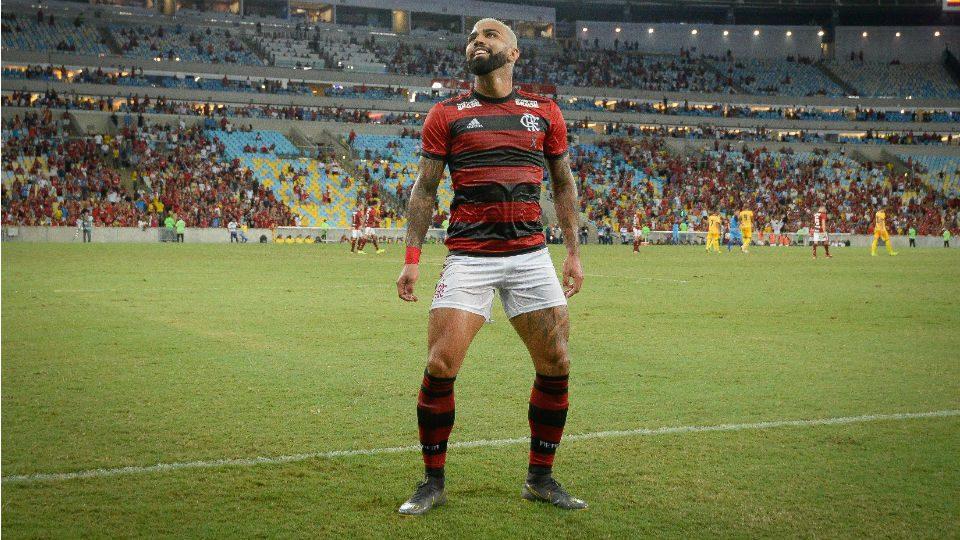 Gabigol Flamengo gol Madureira Taça Rio
