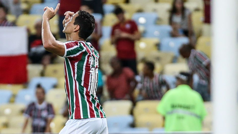 Paulo Henrique Ganso primeiro gol Fluminense Ypiranga 2019
