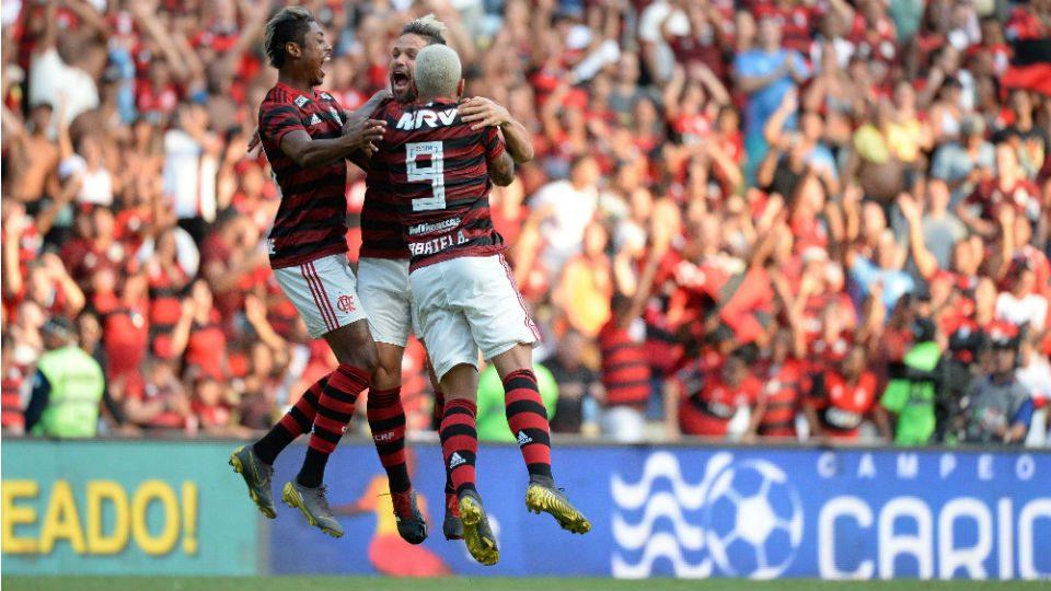 Bruno Henrique Diego Gabigol Flamengo 2019
