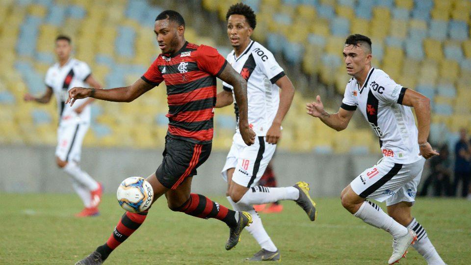 Vitinho Flamengo Vasco Lucas Mineiro 2019 Taça Rio