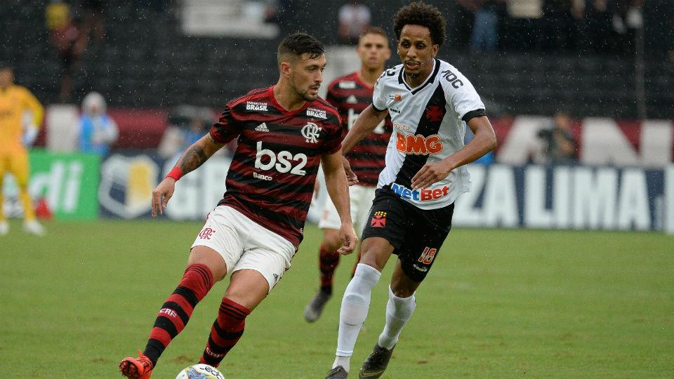 Arrascaeta Flamengo final Carioca 2019
