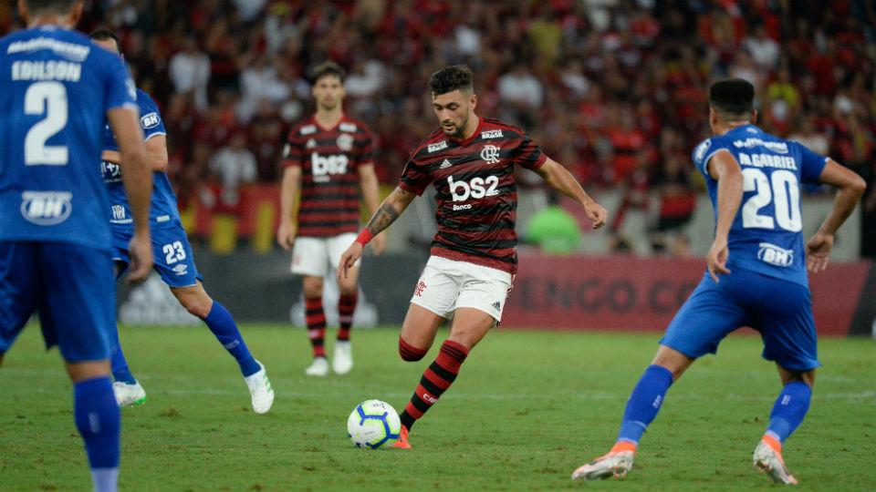 Arrascaeta reencontro Cruzeiro Flamengo Maracanã 2019