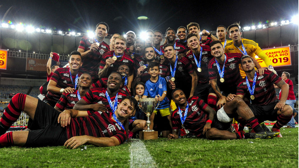 Flamengo campeão Taça Rio 2019