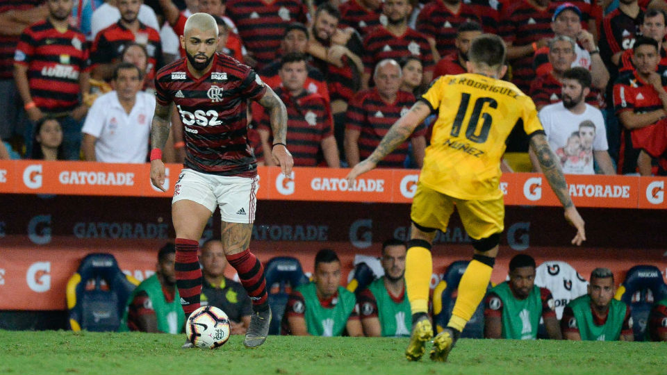 Flamengo Gabigol 2019 Peñarol Libertadores Maracanã