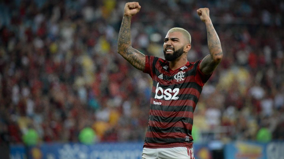 Gabigol Flamengo Fla-Flu semifinal Carioca 2019