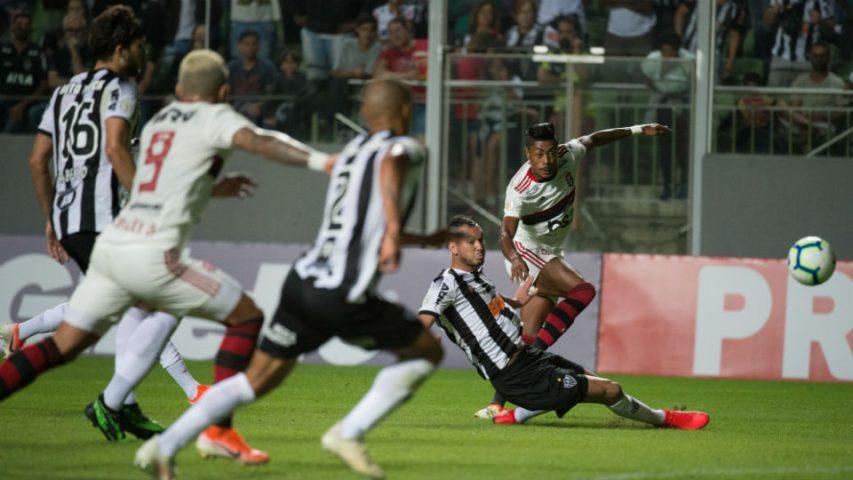 Bruno Henrique Flamengo gol Atlético-MG Brasileiro 2019