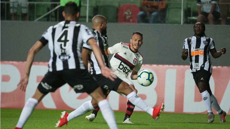 Renê Flamengo Atlético-MG Brasileiro 2019