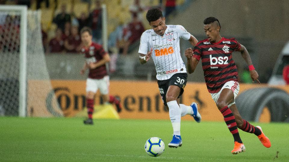 Bruno Henrique Flamengo Corinthians Junior Urso Copa do Brasil