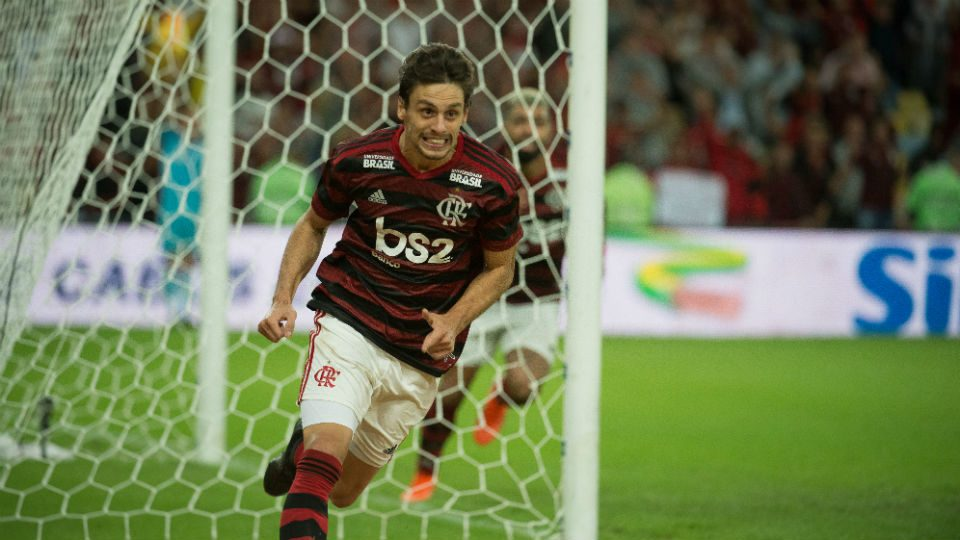 Rodrigo Caio gol Flamengo Corinthians Copa do Brasil