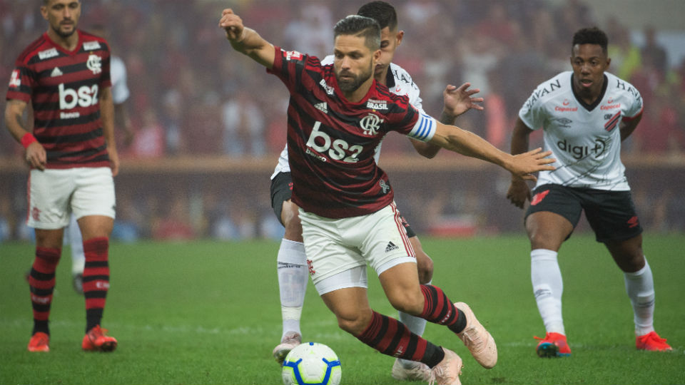 Diego Flamengo Athletico 2019