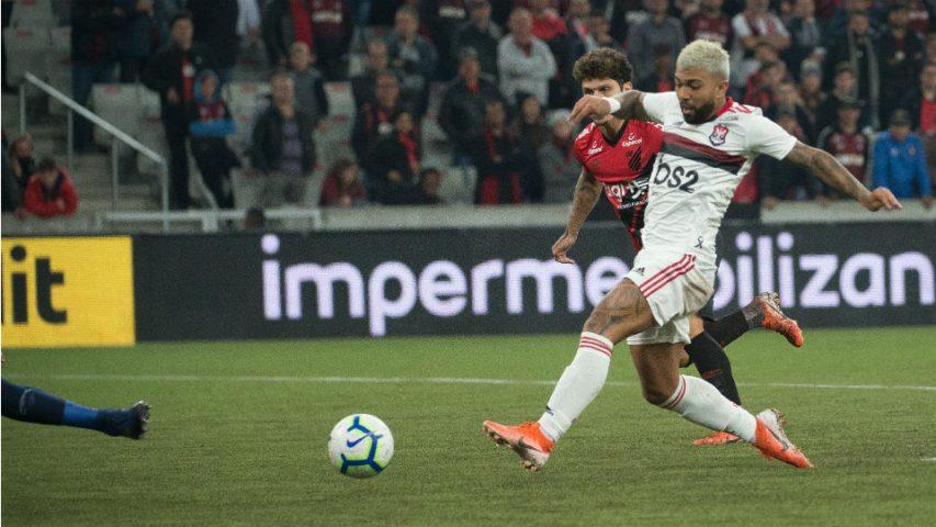 Gabigol gol Athletico PR