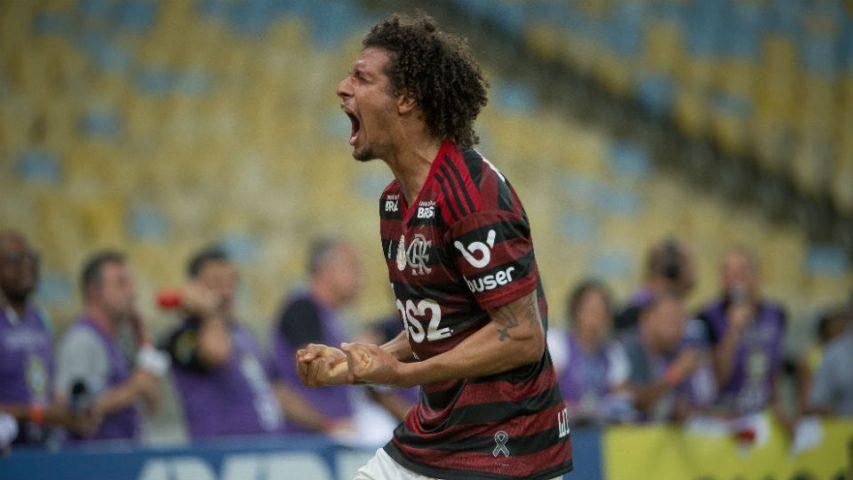 Willian Arão Flamengo Grêmio 2019