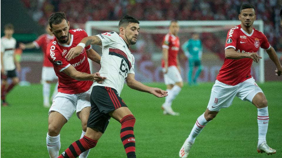 Arrascaeta Flamengo Internacional Libertadores 2019
