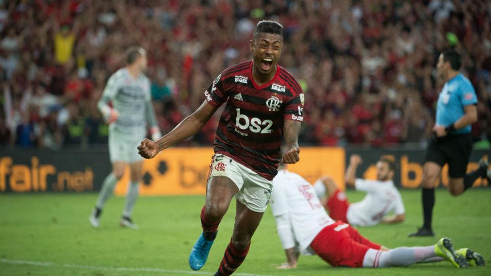 Bruno Henrique Flamengo gol Internacional Libertadores 2019
