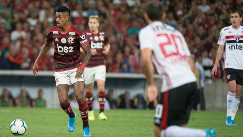 Bruno Henrique Flamengo São Paulo