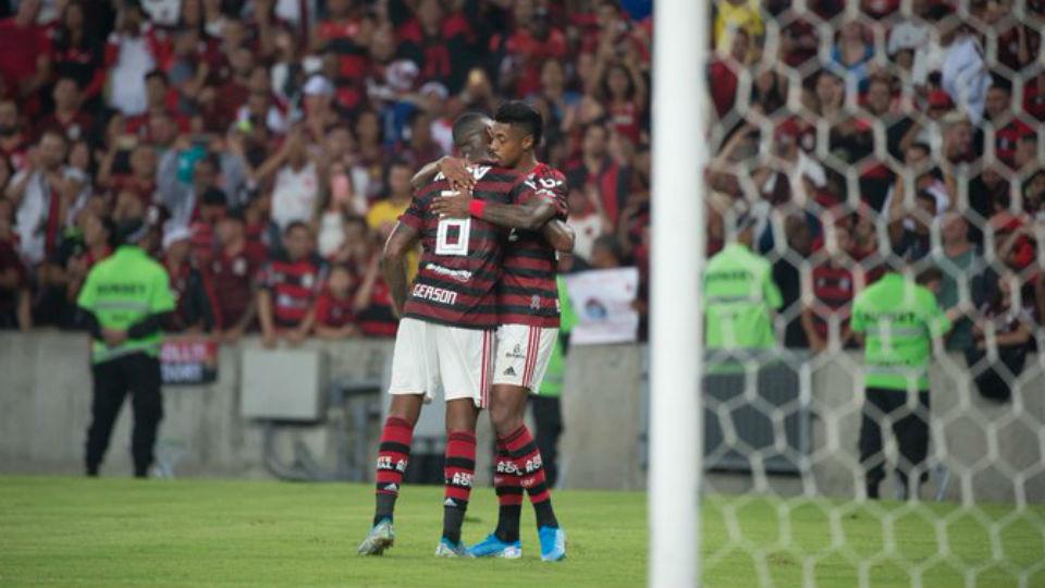 Bruno Henrique Gerson Flamengo Inter Brasileiro 2019