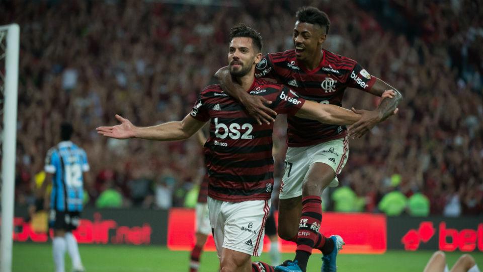 Pablo Marí Bruno Henrique Flamengo