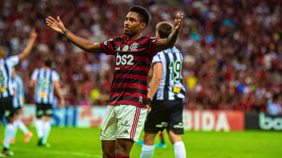 Vitinho Flamengo gol Atlético-MG 2019