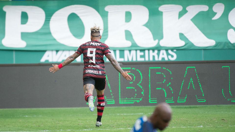 Gabigol gol Palmeiras Brasileiro 2019 segundo turno Palmeiras Allianz Parque