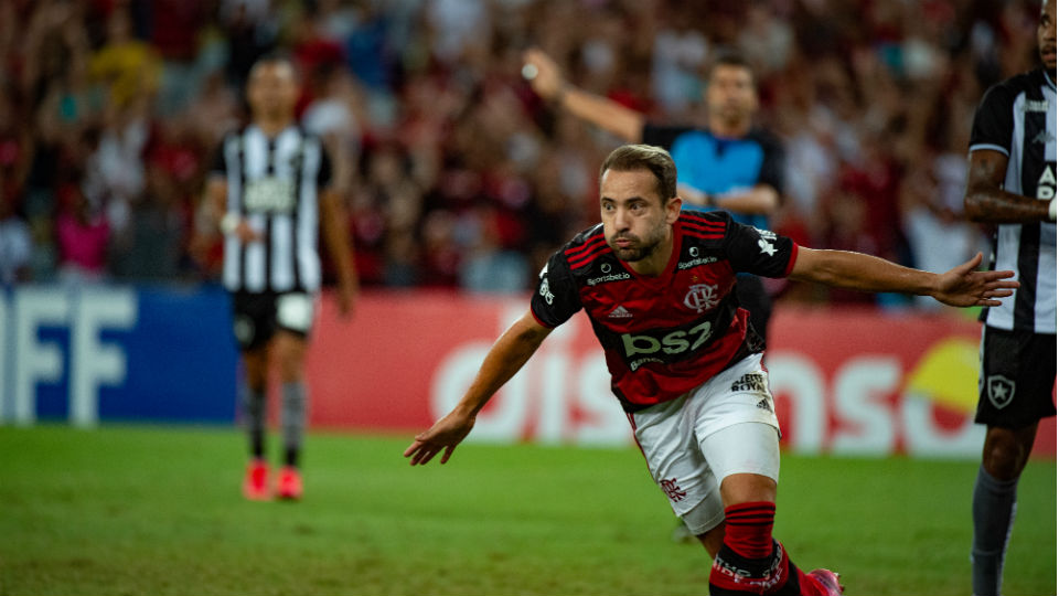Everton Ribeiro gol Botafogo