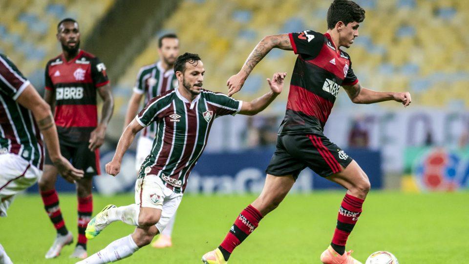 Pedro Flamengo Fla-Flu final Carioca 2020 primeiro jogo