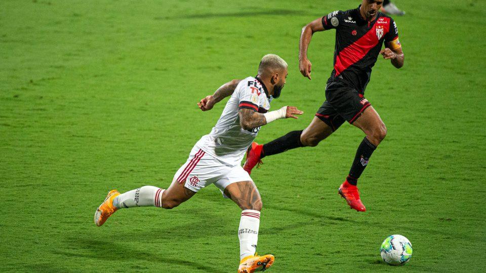Gabigol Flamengo Atlético-GO
