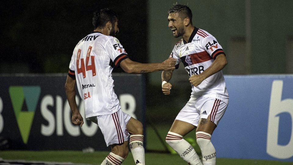 Arrascaeta Isla Bahia Brasileiro 2020 Flamengo