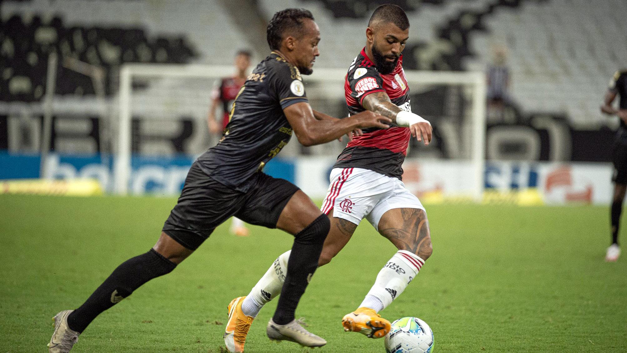 Gabigol Flamengo Ceará 2020 Brasileiro