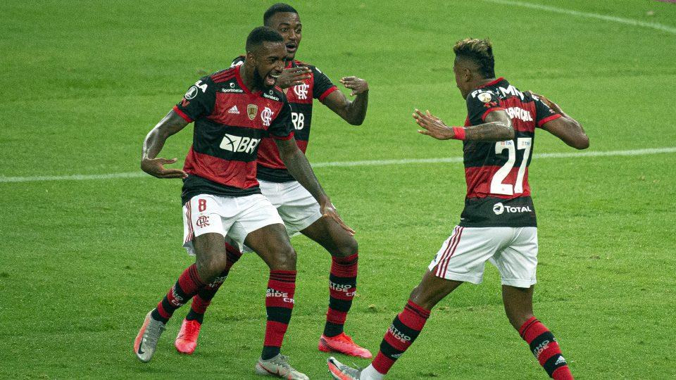 Bruno Henrique Flamengo Independiente del Valle maracana