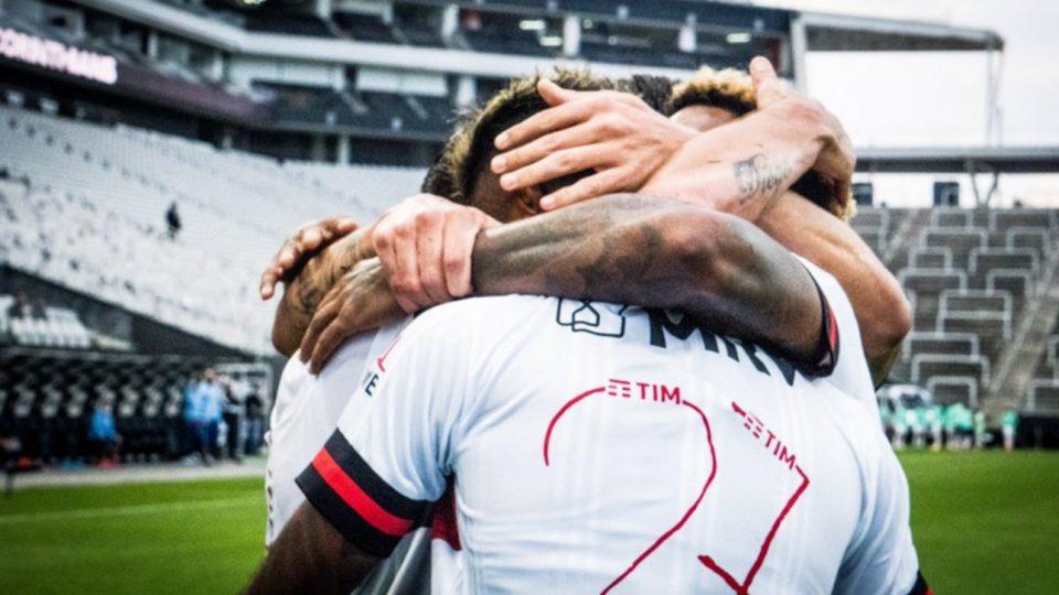 Flamengo Corinthians Bruno Henrique Itaquera Brasileiro 2020