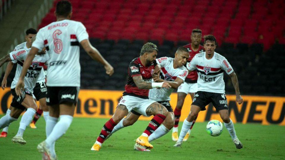 Gabigol Flamengo São Paulo Copa do Brasil