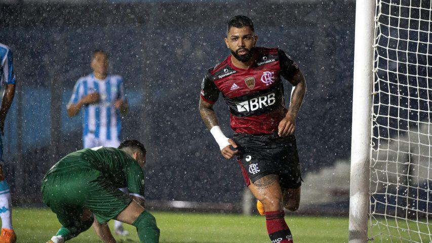 Gabigol Flamengo Racing gol 2020 Libertadores