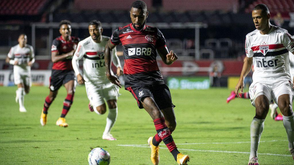 Gerson Morumbi Flamengo São Paulo Copa do Brasil