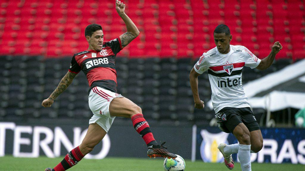 Pedro Flamengo São Paulo Brasileiro 2020
