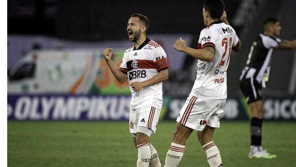 Everton Ribeiro gol Flamengo Botafogo Brasileiro 2020