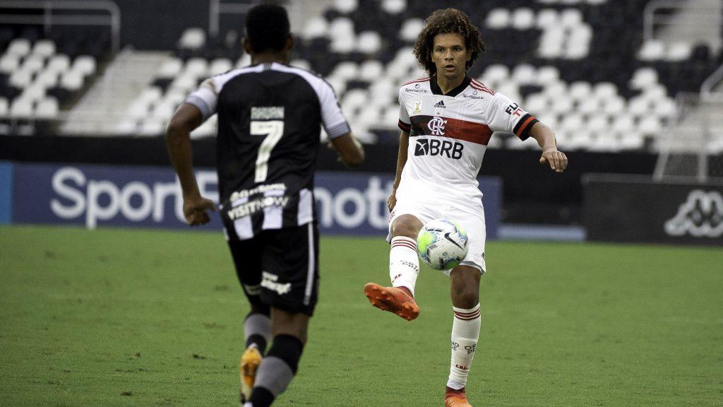 Willian Arão Botafogo Flamengo 2020