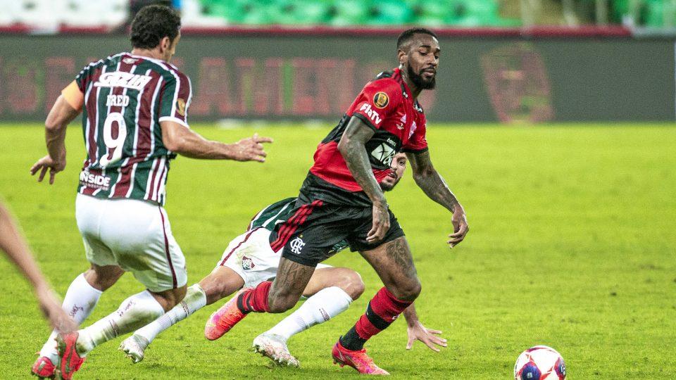 Gerson Flamengo Fluminense Fred final Carioca 2021