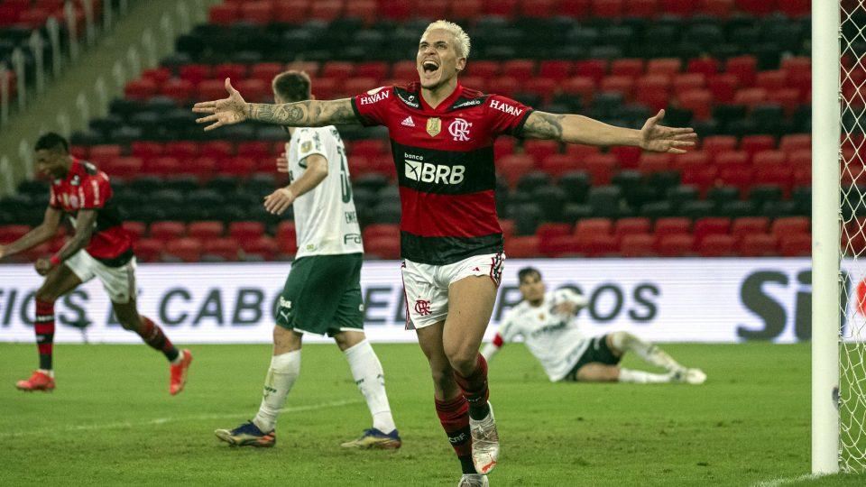 Pedro gol Flamengo Palmeiras estreia Brasileiro 2021